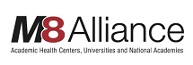 Logo: M8 Alliance of Academic Health Centers, Universities and National Academies