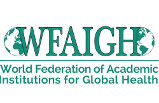 Logo: World Federation of Academic Institutions for Global Health